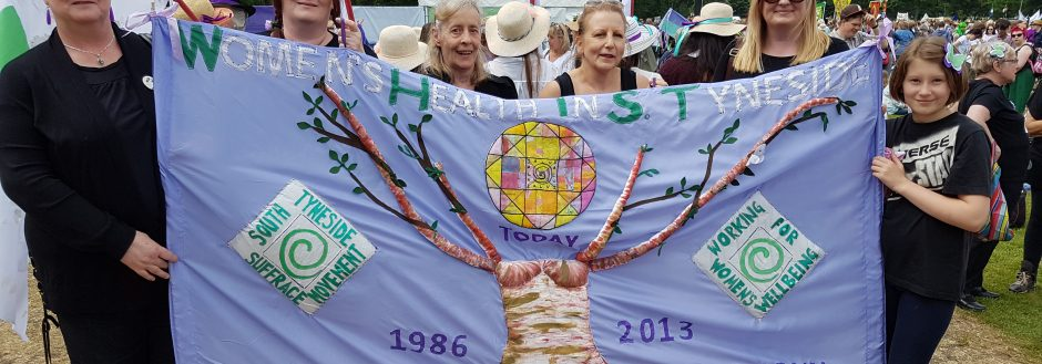 WHiST Women join the march across the UK to celebrate 100 years of female suffrage